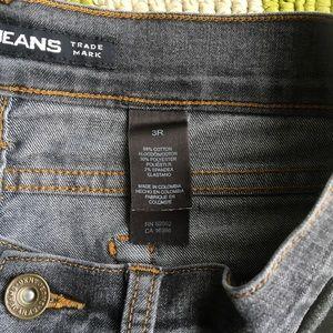 Dkny Jeans - Gray/Black Boot Cut Jeans DKNY Sz 3 R